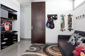 Tres estilos para una playroom