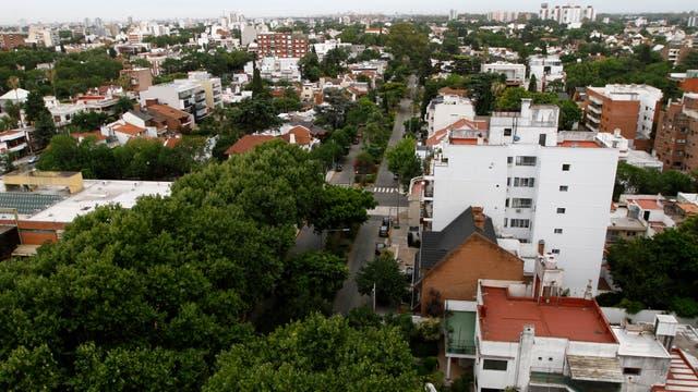 Una vista en altura de Villa Devoto. Foto: LA NACION / Hernán Zenteno