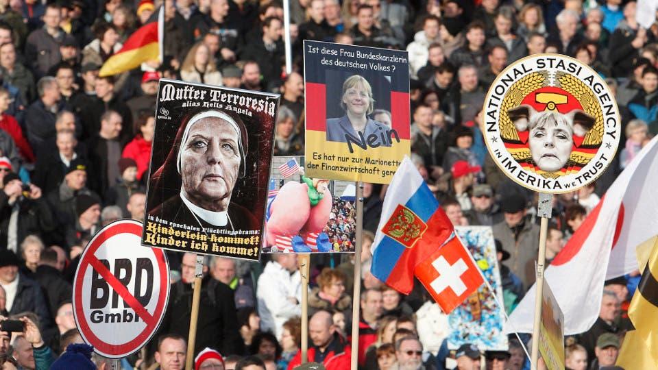 La ultraderecha xenófoba crece y sacude los fantasmas de Alemania