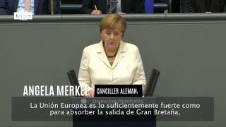 Dura advertencia de Merkel a Londres para que mantenga la libre circulación de ciudadanos comunitari