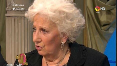 Estela Carlotto en lo de Mirtha