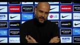 """Estalló Guardiola en una conferencia de prensa: """"Dejen de preguntarme por Agüero"""""""