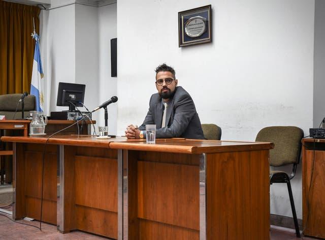 Pablo García recibió ayer una pena por homicidio culposo agravado, pero no fue enviado a prisión
