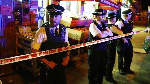 """Londres: aseguran que el incidente de la camioneta fue un """"ataque terrorista"""""""