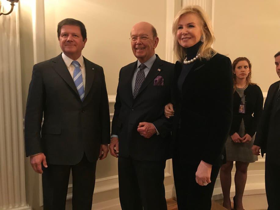 """El secretario de Comercio de Estados Unidos, Wilbur Ross, dijo que la relación bilateral con la Argentina está en """"nuevo pico histórico"""""""