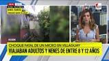Tragedia en Villaguay: el comisario mayor habla sobre las heridas de los niños