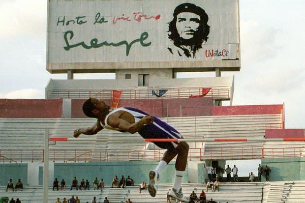 Javier Sotomoyor, durante una exhibición en La Habana