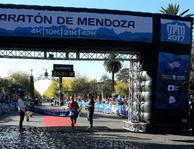 Mohamed ganó por cuarta vez el Maratón de su provincia