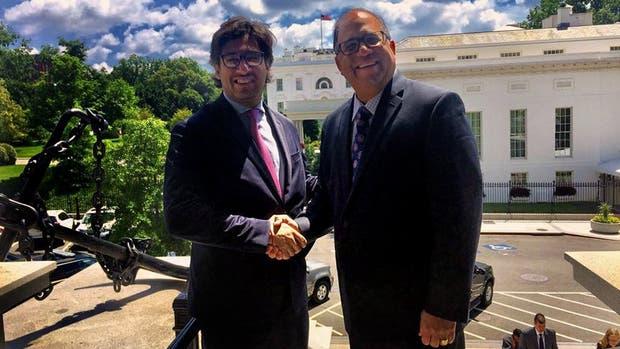 Garavano acordó la cooperación de EE.UU. con el director del Consejo de Seguridad