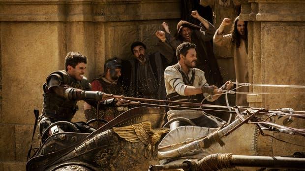 Judah ben-Hur y Messalla en la batalla final