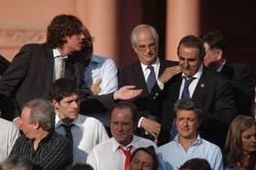 Martín Lousteau, cuando era ministro de Economía, en el 2008, tuvo un fuerte cruce con el secretario de Comercio, Guillermo Moreno