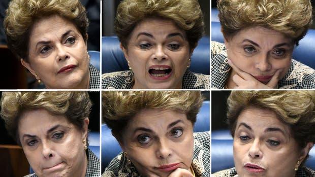 Rousseff dice al Senado que siente