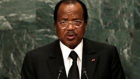 El presidente de Camerun, Paul Biya
