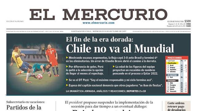 Diario El Mercurio de Chile