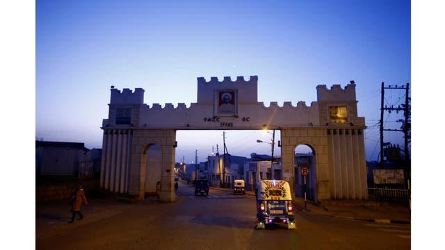 La entrada de la ciudad amurallada de Harar