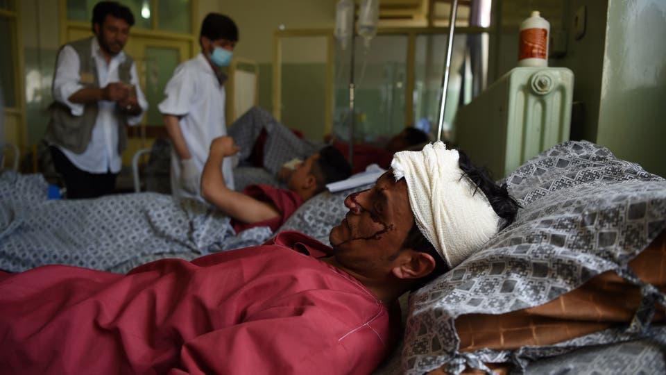 La explosión, una de las más mortíferas en Kabul, ocurrió al inicio del mes sagrado del Ramadán . Foto: AFP