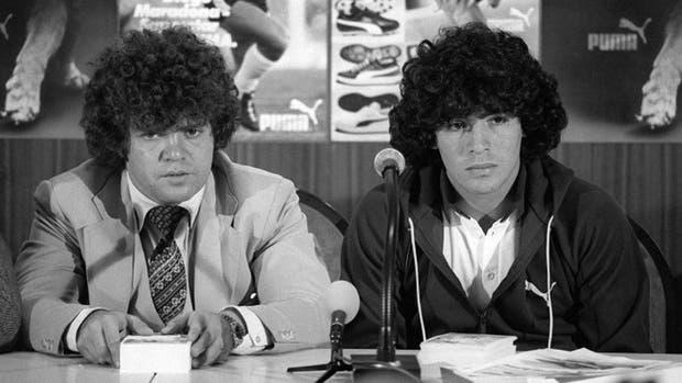 Cyterszpiler, el primer representante de Maradona