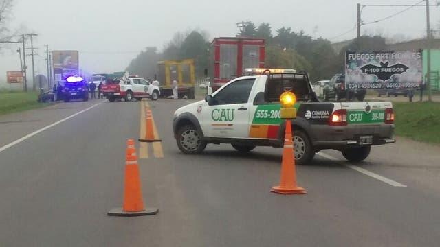 El accidente del hermano de Messi ocurrió en la localidad de Pueblo Esther, en las afueras de Rosario