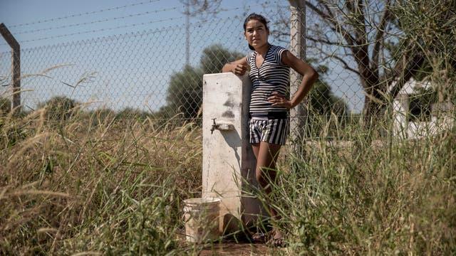 En las zonas periféricas a la ciudad el agua es mayormente de pozo. Foto: LA NACION / Santiago Filipuzzi
