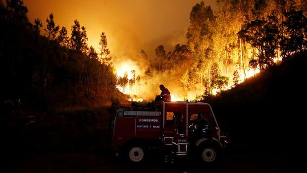 VENEZUELA: El devastador incendio de Portugal a vista de dron