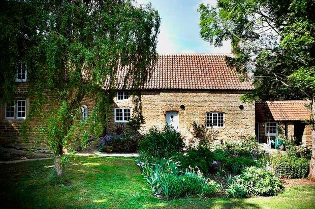Vista del exterior de la casa inglesa..