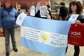 Los mensajes hacia el Gobierno también se hicieron presentes