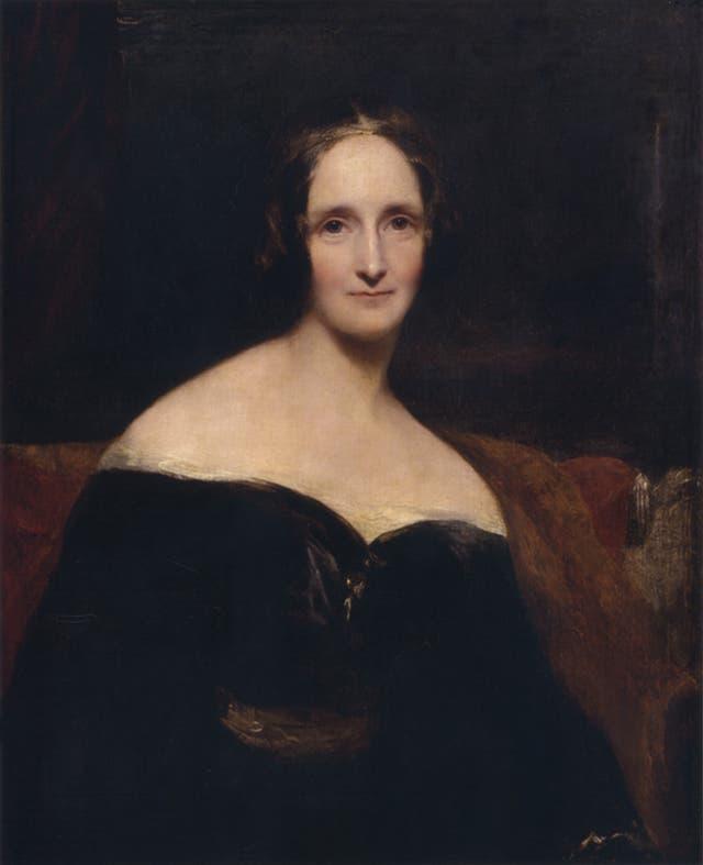 Mary Shelley retratada por Richard Rotwell; su Frankenstein fue escrito hace 200 años, en el verano de 2016, en la villa Diodati de Ginebra