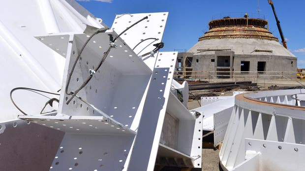 La estación espacial de China está en la localidad neuquina de Bajada del Agrio y ocupa 200 hectáreas