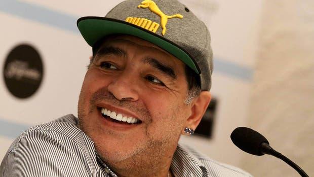 Diego Maradona, afilado