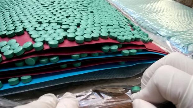 Las pastillas de éxtasis enviadas por encomienda desde Alemania