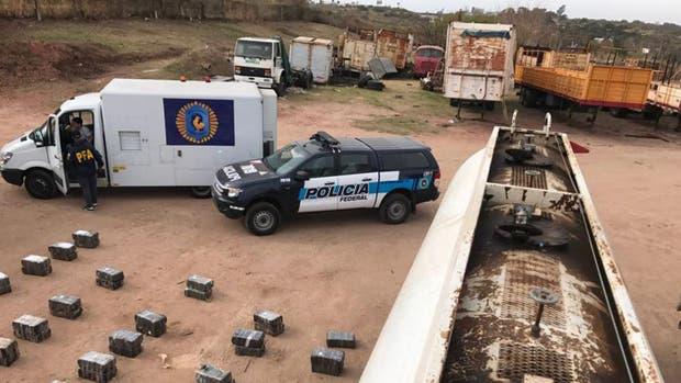 Córdoba: secuestraron 3100 kilos de marihuana