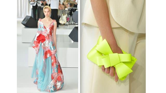 Una modelo exhibe una creación de la marca española Delpozo en la New York Fashion Week, el 13 de septiembre de 2017
