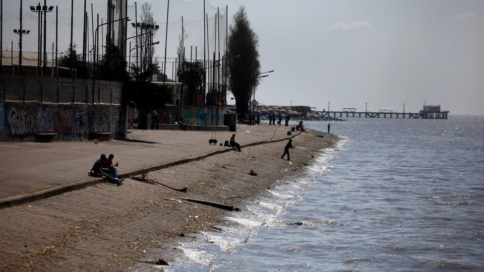 Se busca que una zona abandonada se convierta en un lugar de disfrute . Foto: LA NACION / Silvana Colombo