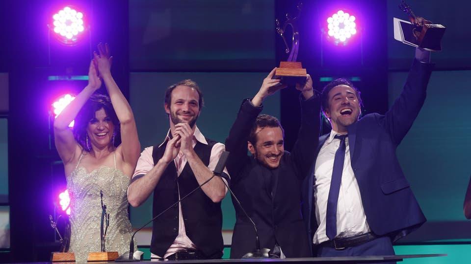 Los Monstruos arrasaron: ganaron en seis de las diez categorías en las que competían y se llevaron el Oro. Foto: Fabián Marelli