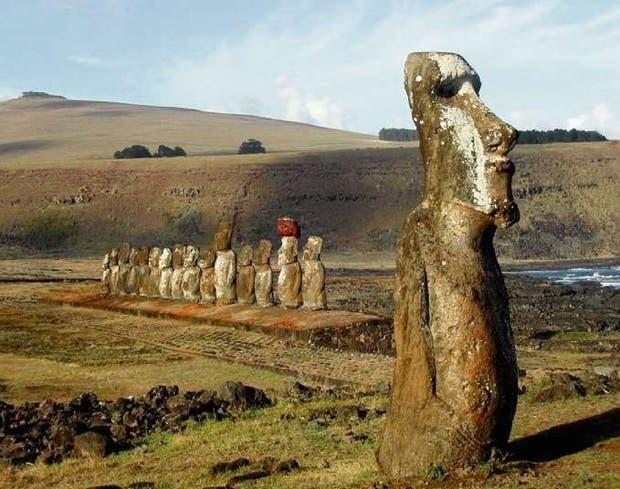 La Isla de Pascua tiene unos 8000 habitantes
