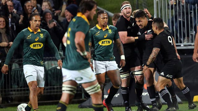 Apabullante victoria de los All Blacks