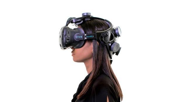 Neurable combinó los sensores de lectura de la actividad cerebral junto al visor HTC Vive para un videojuego que se puede controlar con la mente