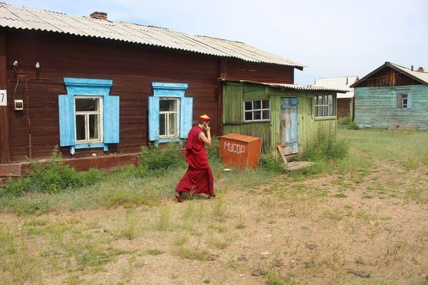 Un lama en la Datsan Ivolginsky, en Ulan-Ude