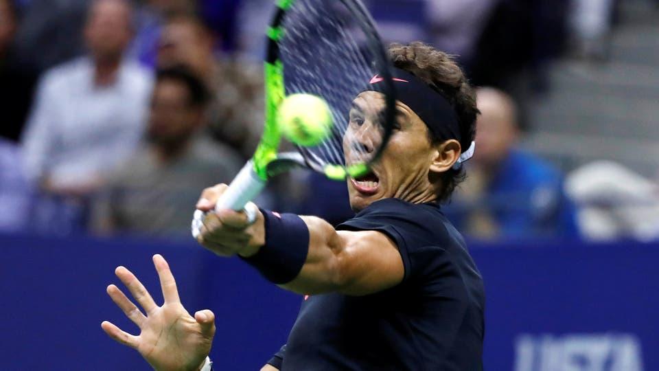 Juan Martín Del Potro - Rafael Nadal. Foto: Reuters / Mike Sega