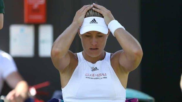 Kerber no lo puede creer; en Wimbledon dejará de ser la Nº 1 del mundo