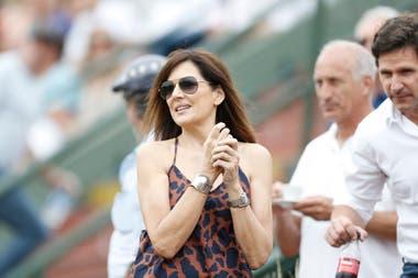 Andrea Frigerio, otra de las celebridades que asistió a la final