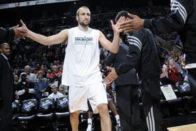 Manu Ginóbili y su gran arranque de temporada en la NBA
