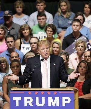 Donald Trump crece y los republicanos empiezan a tom�rselo en serio