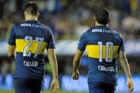 Tevez y Calleri, de los orígenes en All Boys a ser el ataque letal del líder del torneo