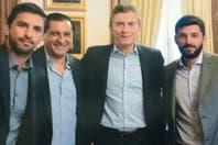 Mauricio Macri le aceptó la apuesta a Ramón Díaz para el superclásico de mañana