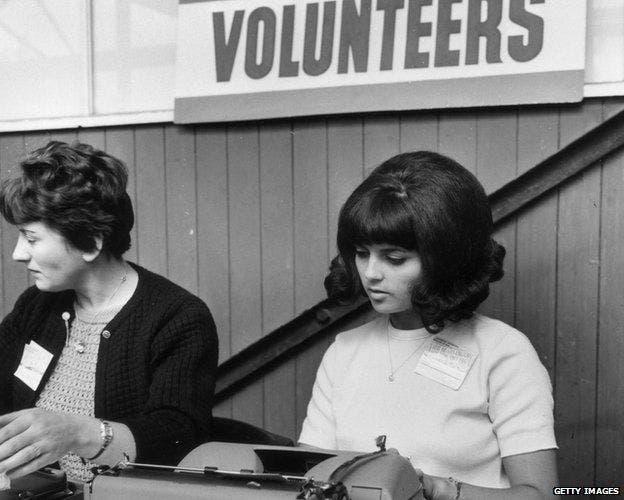 En Londres hubo una ola de reclutamiento para el movimiento en 1966