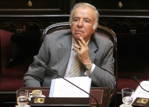 El ex presidente no podrá postularse a senador porque está condenado por el tráfico de armas