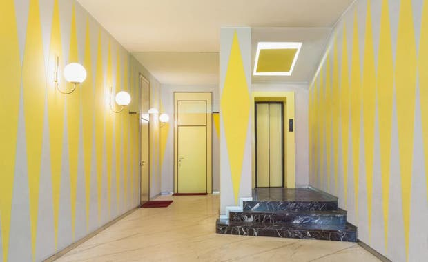 Casa Melandri de Gio Ponti y Alberto Rosselli. Foto: Taschen.