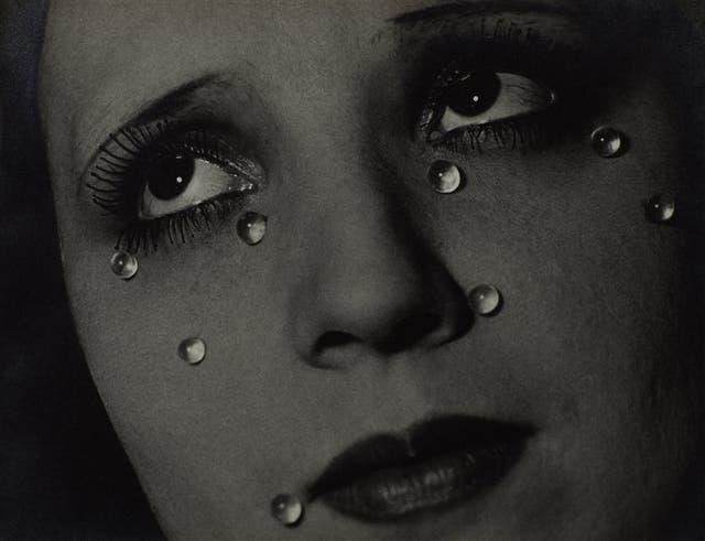 Man Ray. Lágrimas de vidrio, 1932