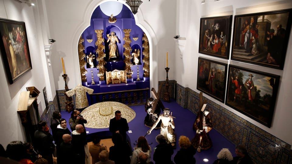 Nuevos espacios para exposiciones permanentes en el Museo de Arte Contemporáneo Isaac Fernández Blanco y restauración de piezas históricas.. Foto: LA NACION / Marcelo Gómez